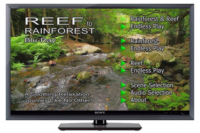 Reef to Rainforest BluRay